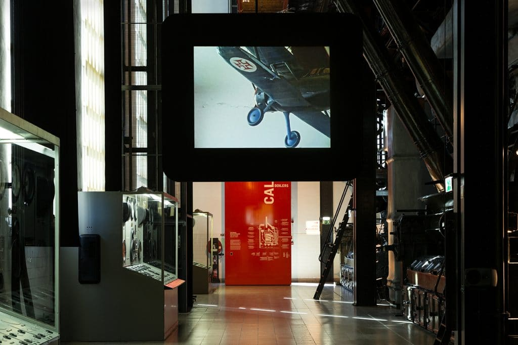 AFI Artists' Film International 2018. MAAT Museum exhibition.