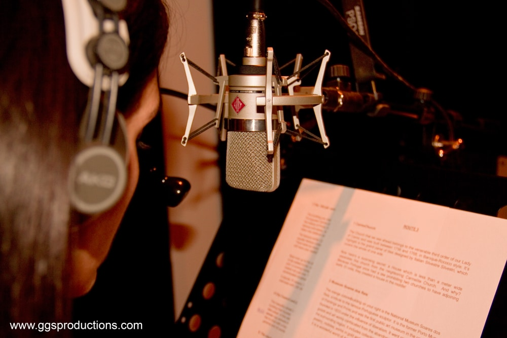 Microphone Recording Studio GGS Productions